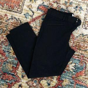 Gap 8R skinny ankle black pants